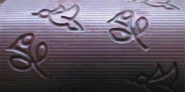 Rodillo para gofrado de tejido no tejido (nonwoven)